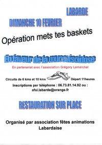 Opération Mets Tes Baskets