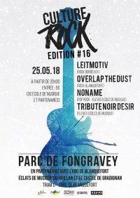 Festival Culture Rock 2018