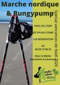 Marche Nordique & Bungypump Noël 2020