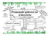 Promenade à pieds ou à vélo