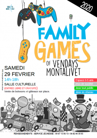Family Games of Vendays-Montalivet