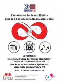 Exposition : 50 ans d'amitié Bordeaux-USA