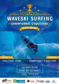 Waveski Surfing - Championnat d'Aquitaine 2018
