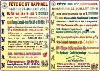 Fête de Saint-Raphaël 2018