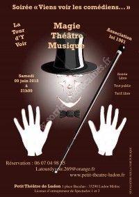 Viens voir les comédiens, les magiciens