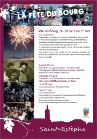 Fête du Bourg 2018