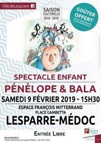 Spectacle enfant : Pénélope & Bala