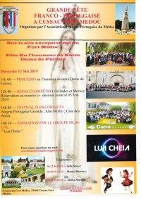Fête en l'honneur de Notre Dame de Fatima 2019