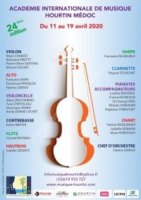 Académie Internationale de Musique Hourtin Médoc 2020