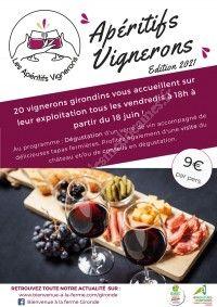 Les Apéritifs Vignerons 2021 : Château Saint Ahon