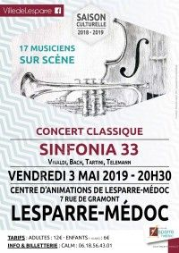Concert classique : SINFONIA 33