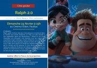 Ciné-Goûter : Ralph 2.0