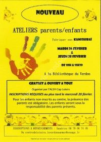 Ateliers Parents / Enfants