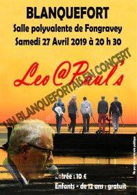 Concert Léo@Paul's