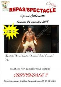 Repas/spectacle Catherinette