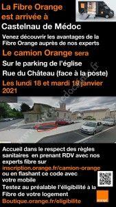 RDV Camion Orange