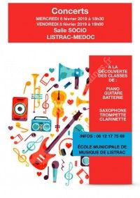 Concert Ecole Municipale de Musique