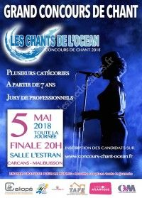 Grand Concours de Chant : Les Chants de l'Océan