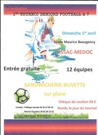 Tournoi Séniors Football à 7