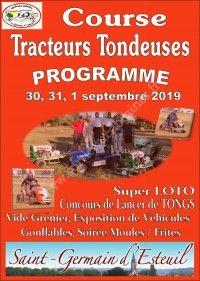 Course de Tracteurs Tondeuses 2019