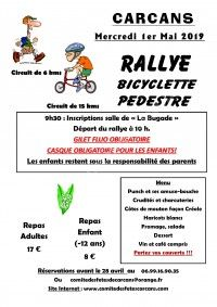 Rallye bicyclette et pédestre