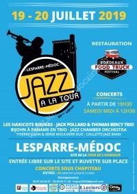 Jazz à la Tour 2019 & Bordeaux Food Truck Festival