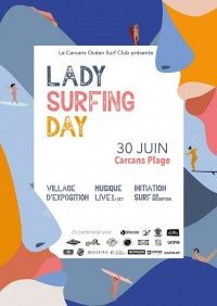 Lady Surfing Day