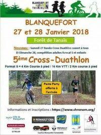 5ème Cross Duathlon de Blanquefort