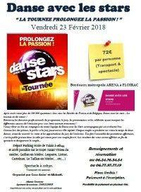 DANSE AVEC LES STARS - La Tournée - Départ du médoc en bus