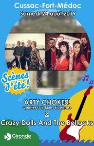 Concerts : CrazyDolls and the Bollocks & Arty Choques Quartet