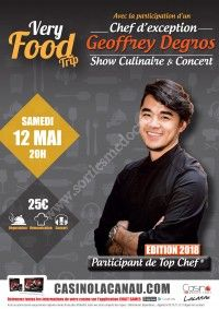 Show culinaire very food trip