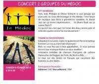 Concert de 2 Groupes du Médoc