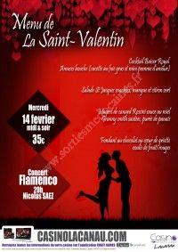St Valentin au CASINO DE LACANAU