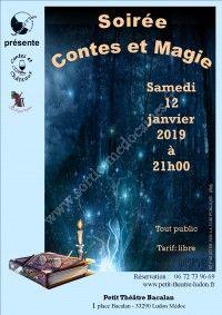 Soirée Contes et Magie