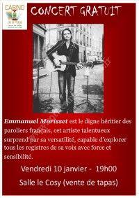 Concert gratuit - Emmanuel Morisset