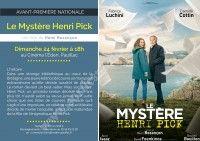 Avant-Première Nationale : Le Mystère Henri Pick