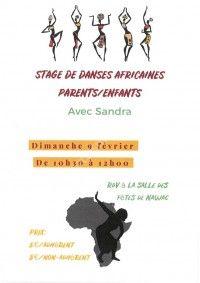 Stage de Danses Africaines Parents / Enfants