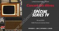 Concert des élèves - Spécial séries TV
