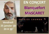 Concert Patrice Caumon et Youssef Abado