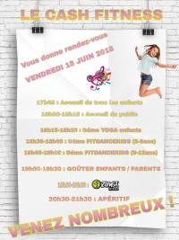 Le CASH Fitness Vous Donne Rendez-Vous