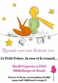 Raconte-moi une histoire sur... le Petit Prince, le renard et la rose