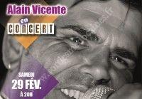 Alain Viccente en concert
