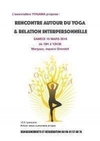Rencontre autour du Yoga & Relation Interpersonnelle