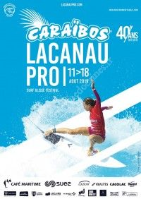 Caraïbos au Caraïbos Lacanau Pro 2019