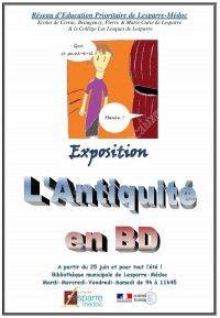 Expo : L'Antiquité en BD