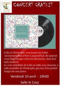 Concert gratuit - Duo Pastel