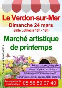 Marché artistique de printemps