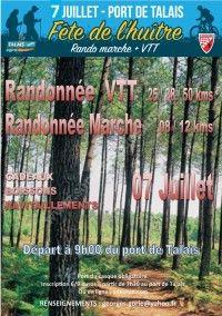 Rando VTT-Marche de la Fête de l'Huître.