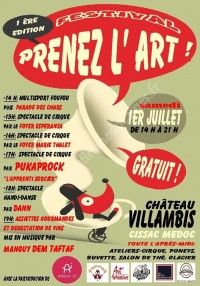 Festival Prenez L'art - Mangui Dem Taf Taf