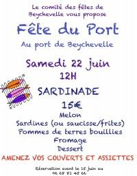 Fête du Port Sardinade